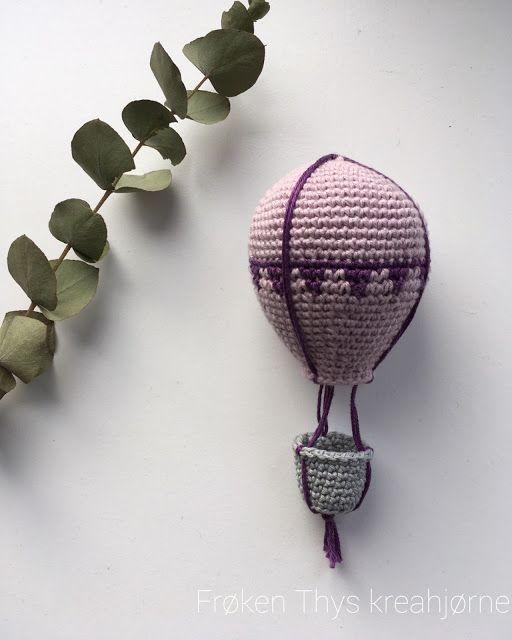 Hæklet luftballon