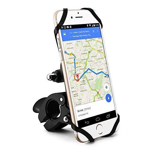 Mpow Support Vélo du Guidon et Camera sport 360 ° Rotation reglable Support vélo Téléphone universel pour moto iPhone 7/ 6/ 6s Note 5…