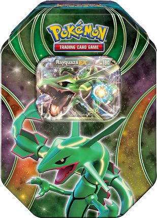 Pokemon - The Best of EX Rayquaza 2016 Tin | The Pokemon Company - Pokemon - The Best of EX Rayquaza 2016 Tin | Popcutlcha