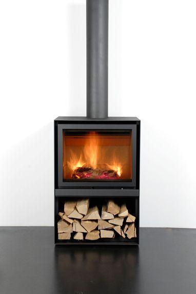 Braskaminer med elden i perfekt fokus - Eldoform