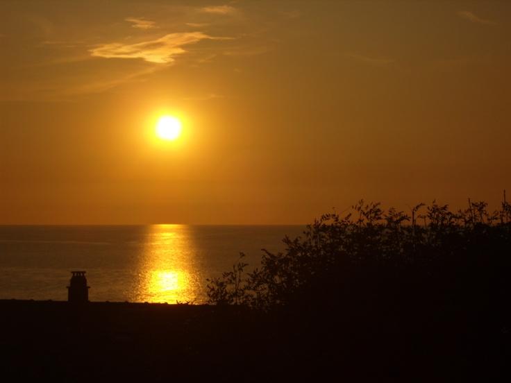 Horizon. France, Normandië.