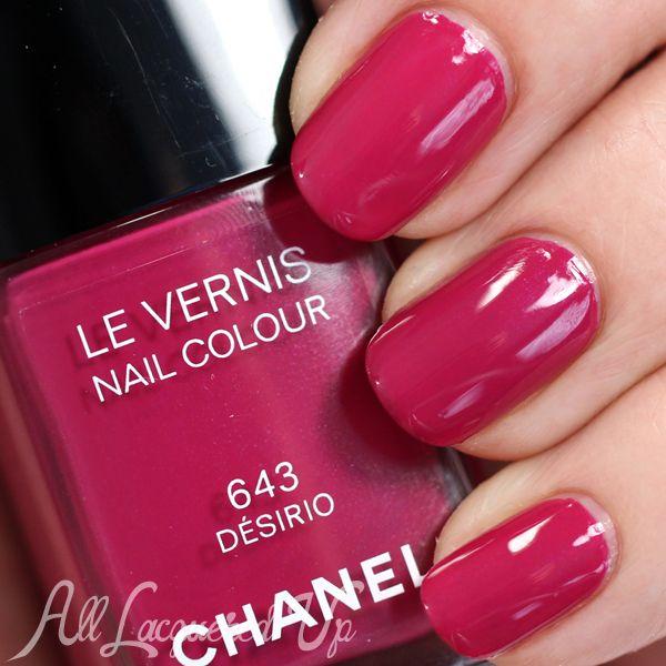 Chanel Desirio swatch - Spring 2015 via @alllacqueredup