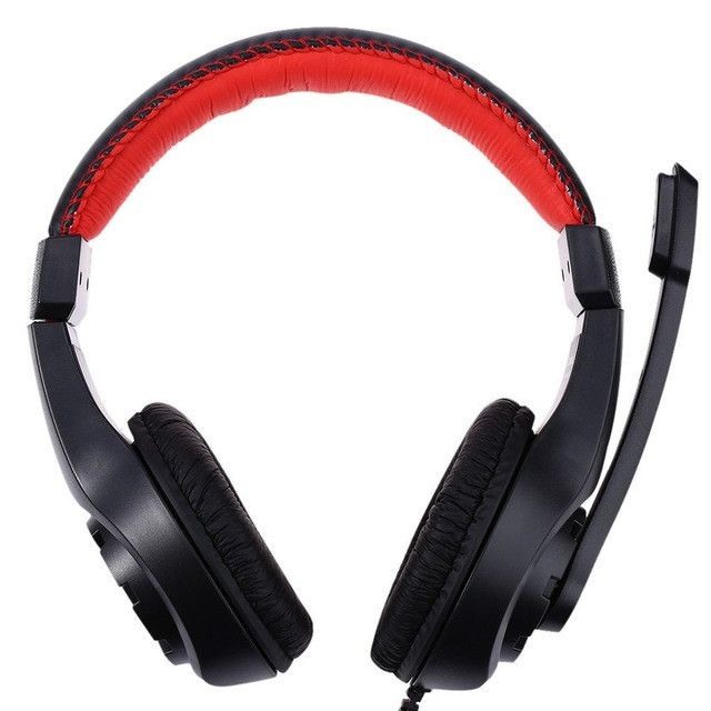 LUPUSS G1 Adjustable 3.5mm Sport Headphone Game Gaming Headphones Headset Low Bass Stereo with Mic Wired for PC Laptop Computer