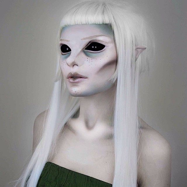 ... makeup on Pinterest : Aliens, Halloween makeup and Special effects