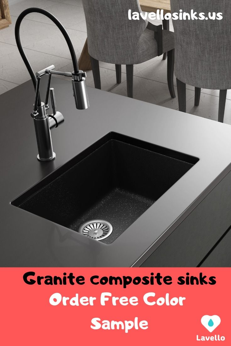 Free Color Samples Lavello Sinks Granite Composite Sinks Sink