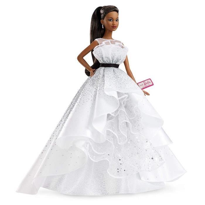 Barbie Signature 60 Ans Barbie Brune Et Robe Diamants Poupee De Collection Barbie De Collection Barbie Mariage Barbie