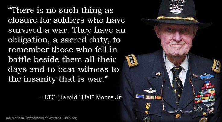 LTG Harold Moore, Jr. Quote #DoorKickersInc   Military ...