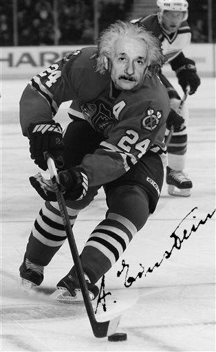 Cool things you didn't know about Saskatchewan. Albert Einstein played hockey in Saskatchewan for a year. Happy Pi Day everyone (3.14, and Albert Einstein's Birthday)!