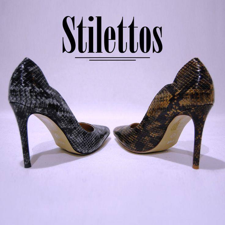 Una mujer se enamora un promedio de 7 veces al año, 6 de ellas de zapatos… ¿Van a ser estos #Stilettos tu ultimo enamoramiento del año? Y recuerda que para gustos… ¡Nuestros colores!