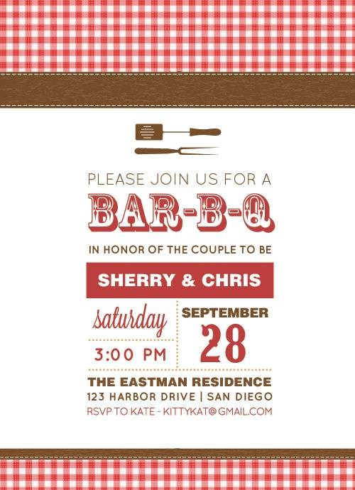 26 best Barbecue invitations images on Pinterest Party ideas - bbq invitation template