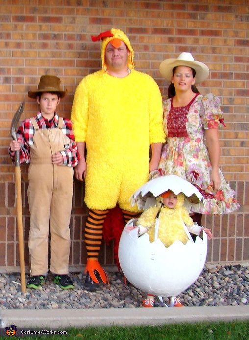 The Family Farm, funny costume