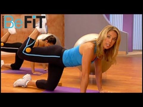 Denise Austin: Abs & Buns Pilates Workout - YouTube
