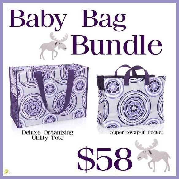 Thirty One Baby Bundle - Just $58 for the month of September and includes the Deluxe Organizing Utility Tote and the Super Swap-It Pocket. Shop with me: trendybags.net Instagram: instagram.com/trendybagswithdj Pinterest: pinterest.com/trendybagswithdj Twitter: twitter.com/TrendyBagsDJ