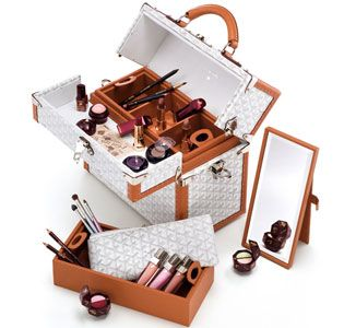 Must-Have of the Moment: Lancome/Goyard Train Case | POPSUGAR Beauty