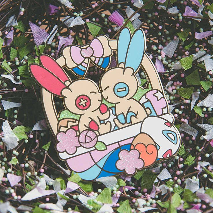 PIN REVEAL: Easter Ani-Bunnies! | Gilles on Patreon | Cute