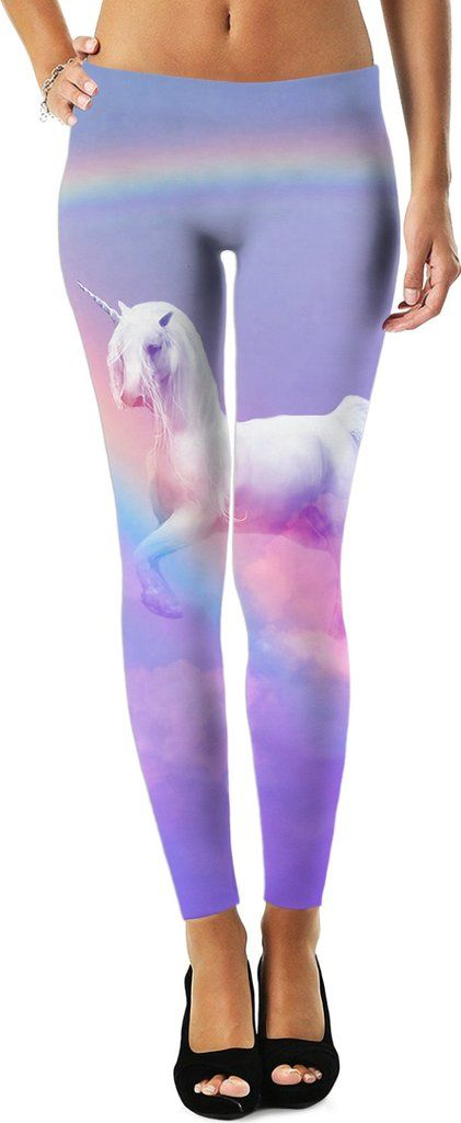 Unicorn and Rainbow Leggings