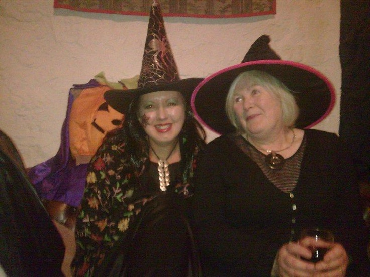 Me and Chris as witches