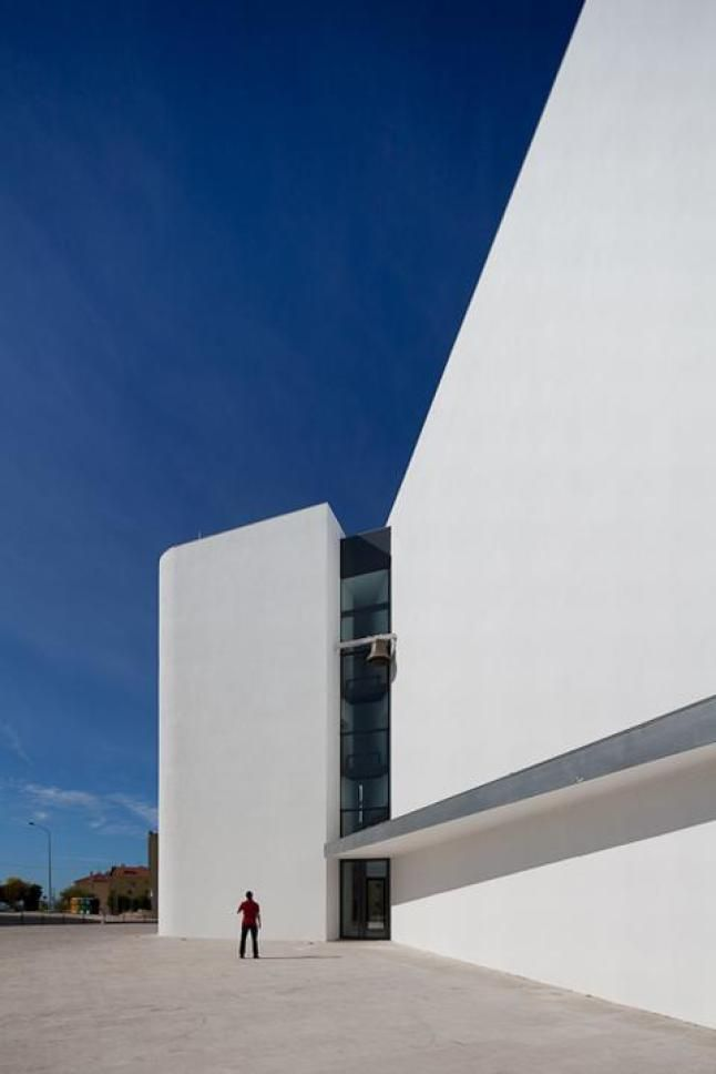 Church of Senhora da Boa Nova, Estoril, Portugal by Roseta Vaz Monteiro Architects