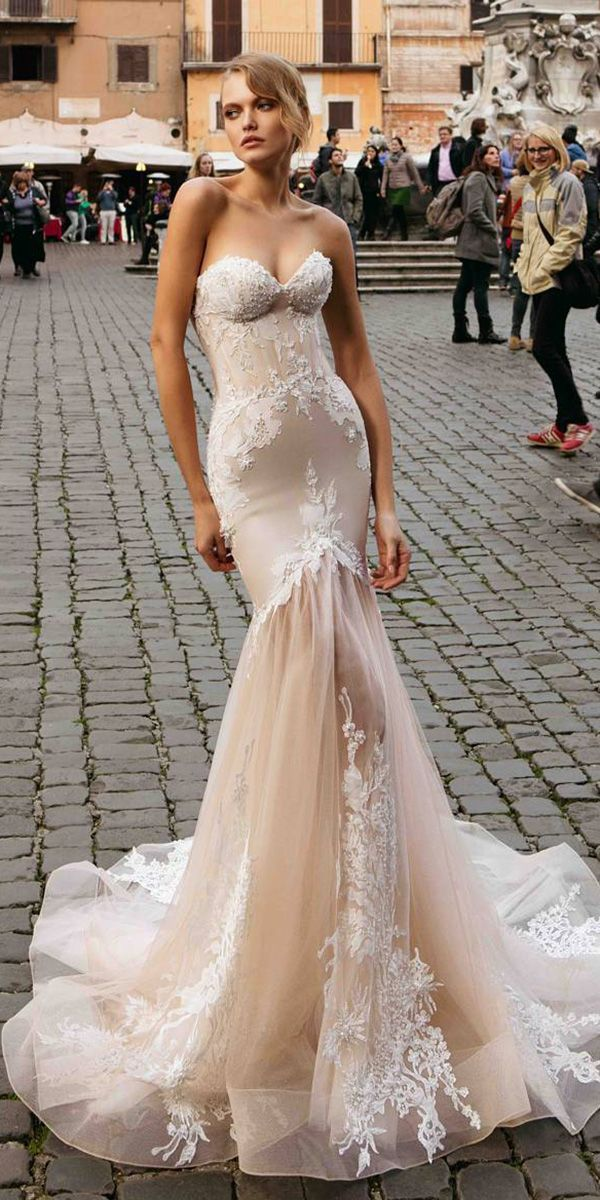 24 Trumpet Wedding Dresses That Are Fancy Romantic Wedding Dresses Guide Wedding Dresses Wedding Dresses Romantic Wedding Dresses Strapless