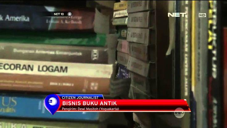 Berbisnis Buku Antik di Yogyakarta