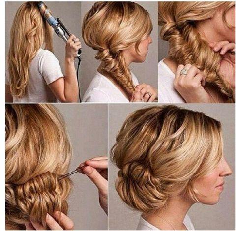Enkel, snygg håruppsättning med fläta - Hairbysuzans Blogg - Finest.se