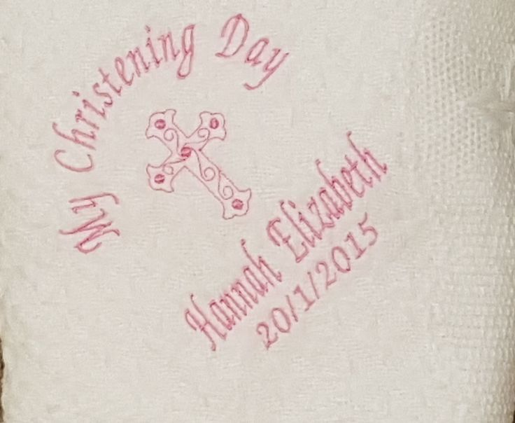 23 best personalised baby gifts images on pinterest babies nursery personalised embroidered baby christening baptism nameing shawl blanket gift unbranded negle Images