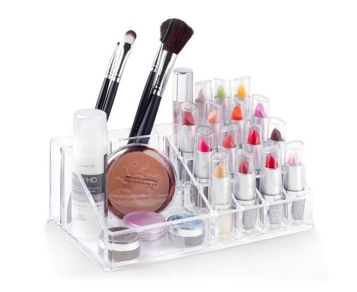 Organizador de cosmético - Médio - Banheiro / Organizadores de maquiagem e cremes | Ordenato!