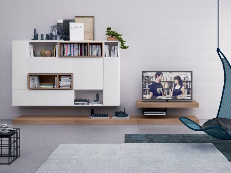 27 best contemporary library images on pinterest - Parete Attrezzata Per Tv Logic 530