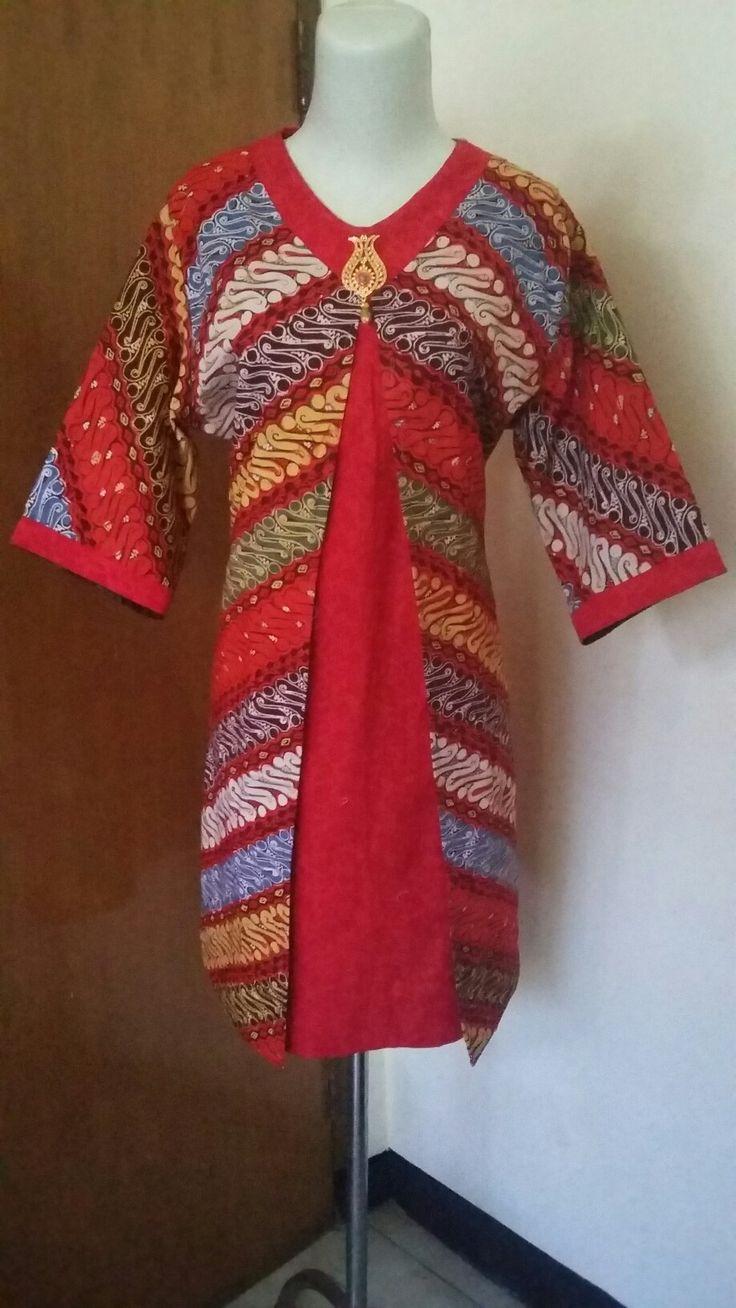 """Batik Parang Dan Embos  """"MERAH MANIS"""" Rp. 285.000 ( custom size )  FEEL GOOD 08563393739"""