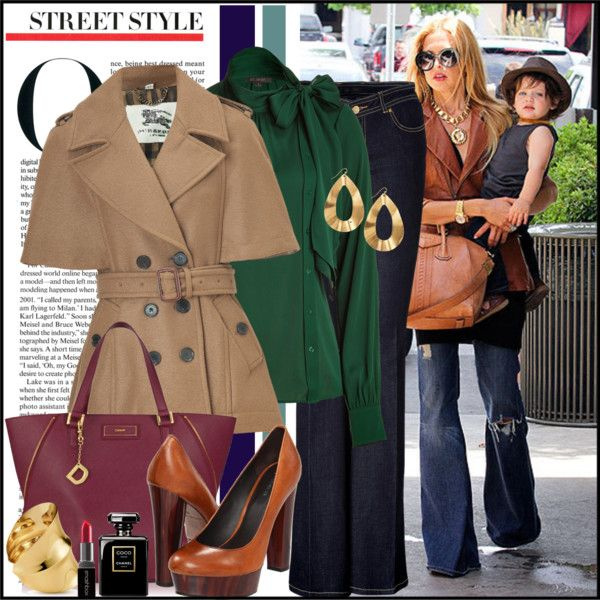 """""""Street Style: Rachael Zoe"""" by mellow30 ❤ liked on Polyvore"""