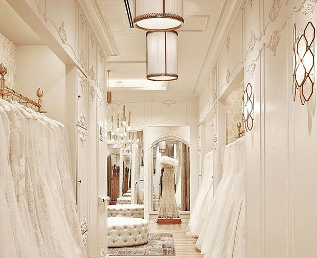 Guide To The Best Bridal Boutiques In London Bridal Shop Ideas Bridal Shop Interior Bridal Boutique