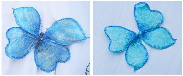 Communiefeest deel 3: feestdecoratie: een papieren vlinder maken - Feestprints