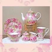 English bone china tea sets