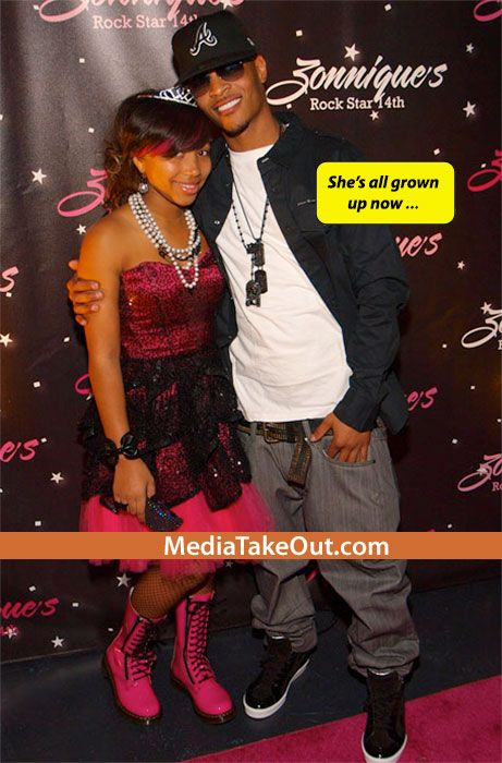 Rapper TI's DAUGHTER Zonnique . . . Has Her First REAL . . . ADULT BOYFRIEND!!! (Cute Couple)