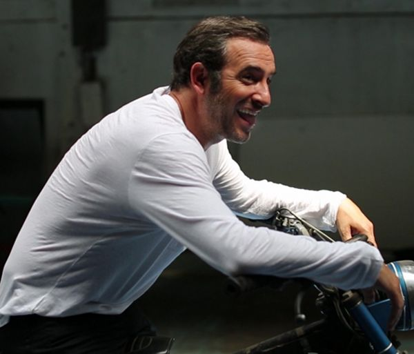 "polyvinylfilms: ""Jean Dujardin tongue appreciation post. """