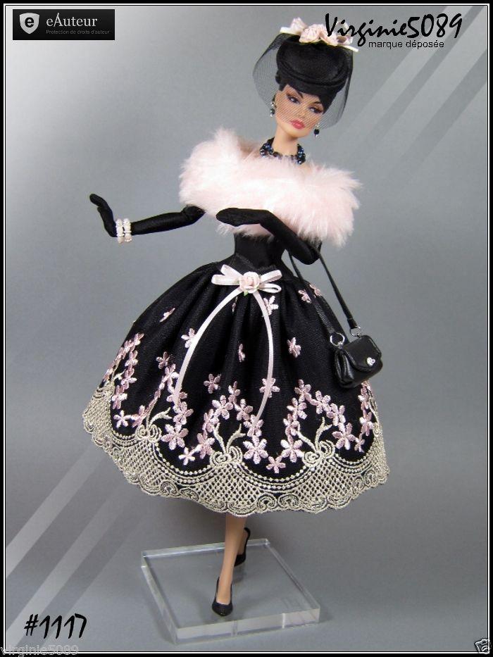 Tenue Outfit Accessoires Pour Barbie Silkstone Vintage Fashion Royalty 1117   eBay                                                                                                                                                      Plus