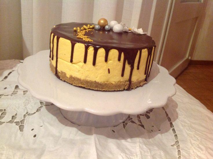 Mangomousse cake