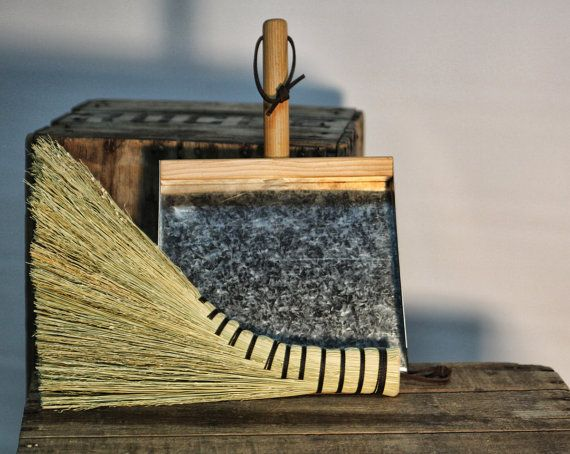 Free Shipping on On $100 Orders. Coupon Code During Checkout: 100FREE ____________________________________________________________ This pair is perfect for scooping up piles after you sweep the kitchen or porch. The turkey wing whisk is a traditional hand broom, used by Ben Franklin. Our dustpans are made from clear Douglas Fir, and hand bent galvanized metal pans. Sturdy and durable, the way dustpans and whisks were in the past.  Turkey wing whisks are approximately 13 long. The dustpans…