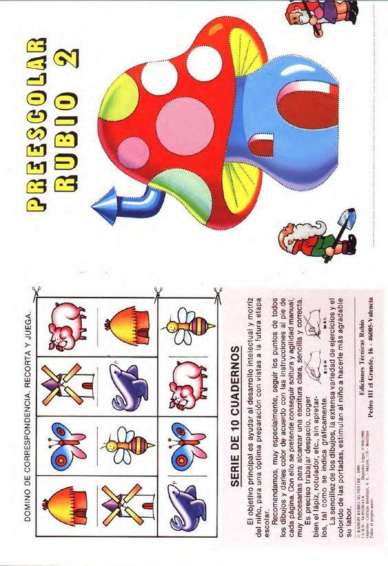Cuadernillo de preescolar 1 rubio  cuadernillo de trabajo para preescolar