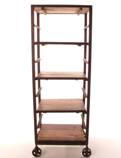 Tall Baker's Rack Shelf - Open Shelving - Shop Nectar - 1