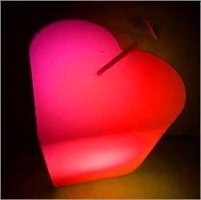 Velas mágicas led corazón