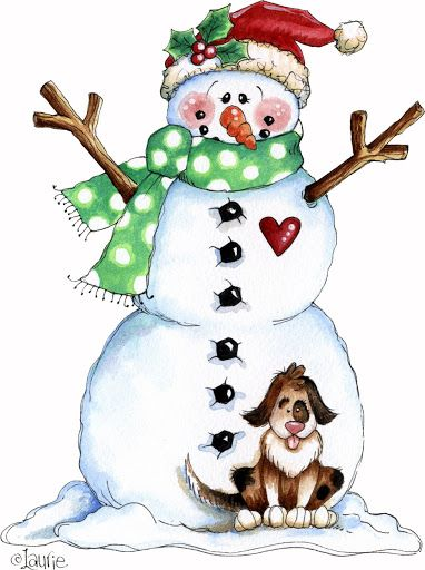 google clip art snowman - photo #17