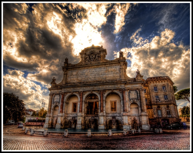 Fontana dell'Acqua Paola, ROME