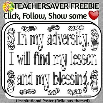 Religious themed poster for coloring, mindfulness, relaxation, meditation. This zip file contains 1 PNG B/W transparent image in 300 dpi. Lettersize paper as well as a 1-2-3-4 per page pdf format for super easy printing or insertion into your educational or