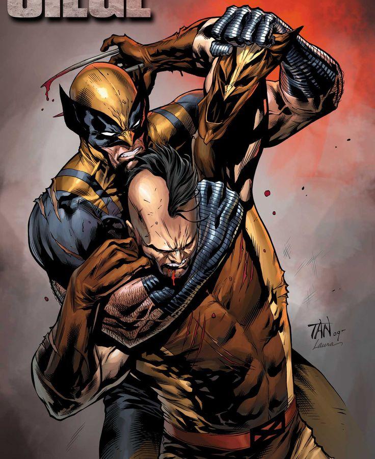 image Wolverine e junior veroneze o instrutor da academia