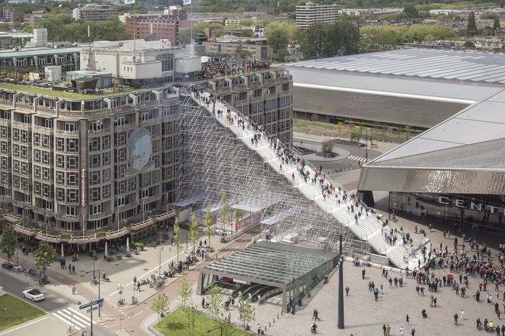 Gallery of MVRDV Unveil Monumental Urban Staircase in the Center of Rotterdam - 12