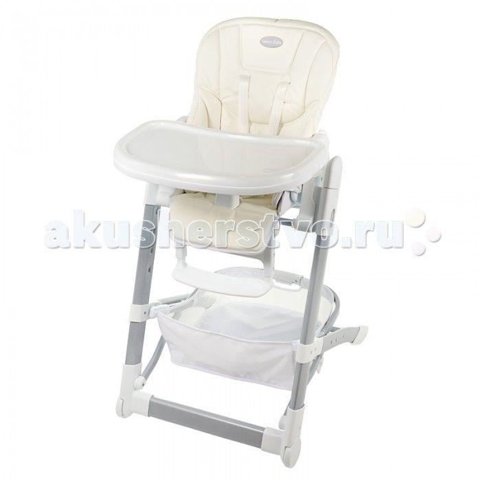 Стульчик для кормления Sweet Baby Triumph  Стульчик для кормления Sweet Baby Triumph  преобразуется в шезлонг с ровной поверхностью для сна и высокими бортиками (15 см) для повышения безопасности. Одна из важных особенностей модели - удобное сиденье, сконструированное по принципу кресла бизнес класса в самолете, оно точно повторяет эргономику тела ребенка, плавно скользит по раме при раскладывании, образует оптимальную длину спального места.  Особенности: 2 в 1: стульчик и шезлонг…