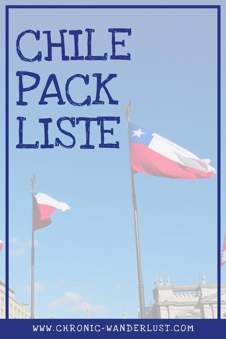 Packliste Chile - Winter in Chile - was einpacken