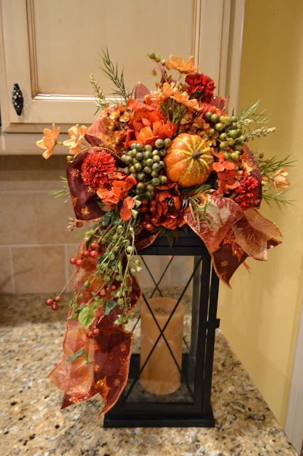 Kristen's Creations: Halloween And Fall Lantern Swags