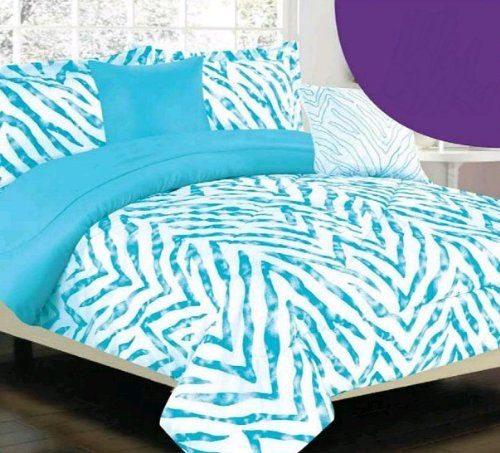 Really awesome Blue Zebra Bedding Sets